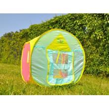 Namiot - składany domek dla dzieci - sprężysty stelaż