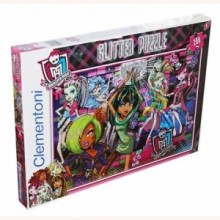 PUZZLE 200 ELEMENTÓW MONSTER HIGH GLITTER PUZZLE