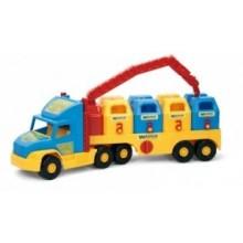 Super Truck Śmieciarka  - WADER 36530 - A1