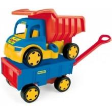 Gigant Truck Wywrotka z Przyczepą- WADER 65100 - A1