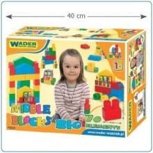 Klocki midle blocks -Zestaw Big- WADER 41560- A1