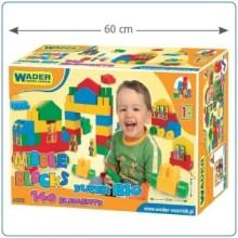Klocki midle blocks - Zestaw Super Big - WADER 41570- A1