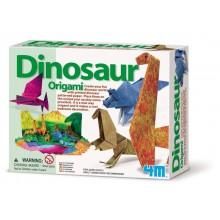 Origami Dinozaury - kreatywny zestaw artystyczny