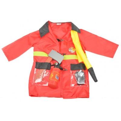 Kombinezon Strażacki Z Akcesoriami Strój małego Strażaka