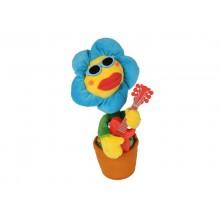 Grający Na Gitarze Kwiatek