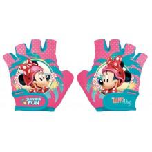 Rękawiczki Na Rower Myszka Minnie Disney