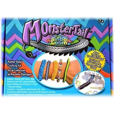 Gumki Zestaw do robienia bransoletek Monstertail 600szt + Akcesoria