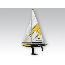 Żaglówka Naulantia 1M Yacht KIT ( Żółta ) - Thunder Tiger
