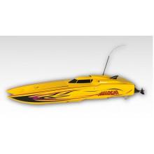 Łódź elektryczna Madcat OBL RTR (żółta) - Thunder Tiger