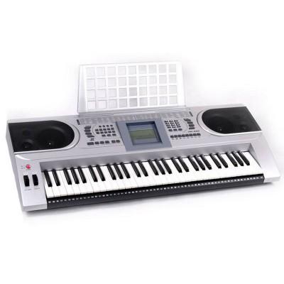 Keyboard MK-920 - 61 klawiszy, podświetlany ekran, 100 rytmów Przeceniony Nr49
