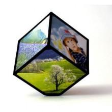 Foto Kostka - obrotowa ramka 3D na 6 zdjęć